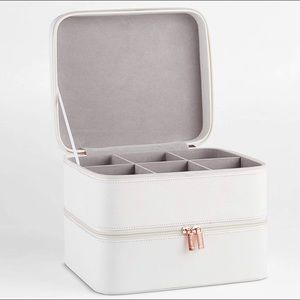 BEAUTIFY DOUBLE MAKEUP CASE ORGANIZER